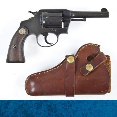 Colt .38 Police Positive Holster-Dead Letter File